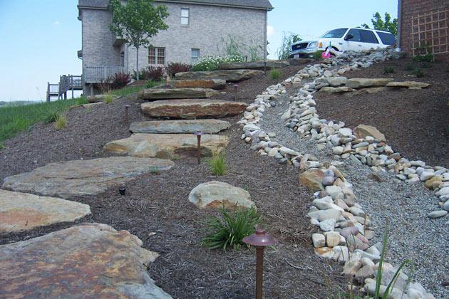 Rockscaping by Brandon Landscape - Pittsburgh's Landscape ... on Backyard Rockscape Ideas id=21012